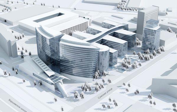 Офисный центр, Варшавское шоссе, Москва